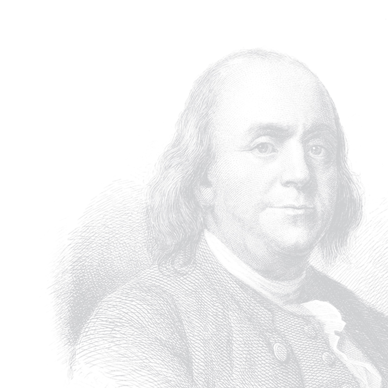 Ben Franklin Background Illustration
