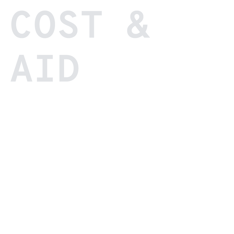 cost & aid