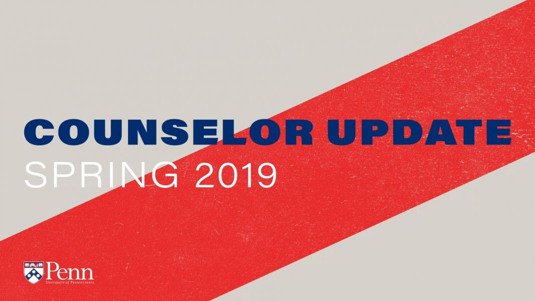 Virtual Counselor Update 2019