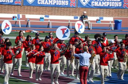 Penn Band at Franklin Field